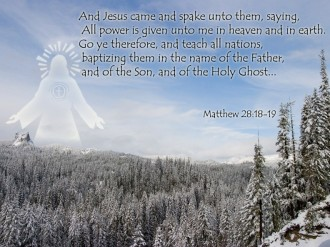 Winter Christian Wallpaper