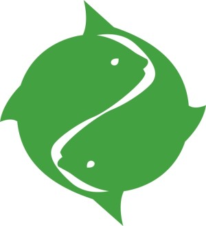 Green Two Fish Symbol