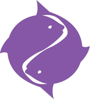 Purple Two Fish Symbol