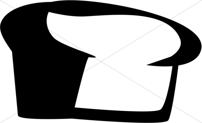 Black and White Basic Bread Loaf
