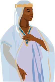 African Queen of Sheba