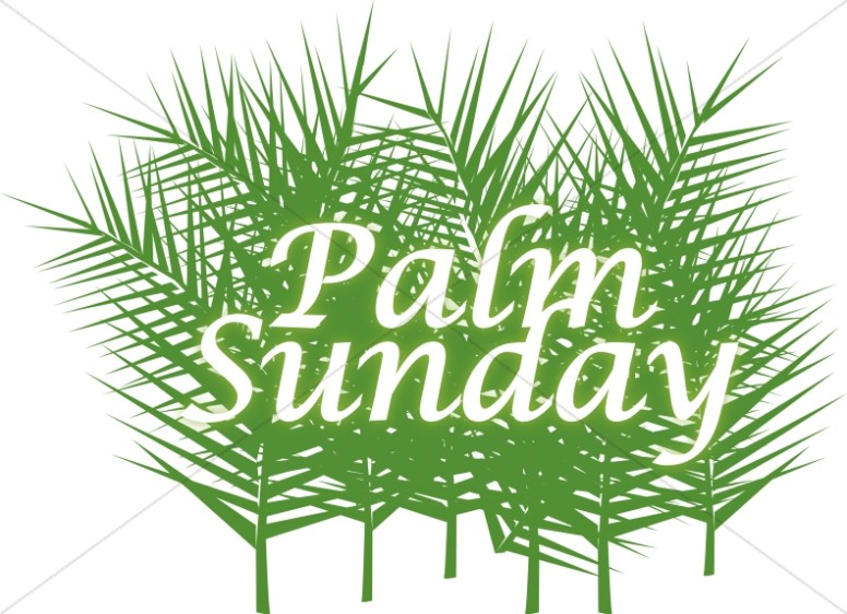 Palm Sunday with Green Fronds