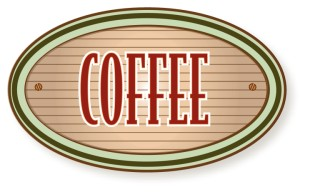 Rustic Coffee Sign