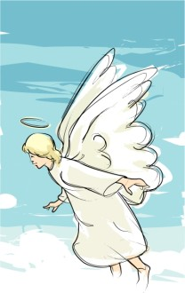 Announcing Angel Clipart