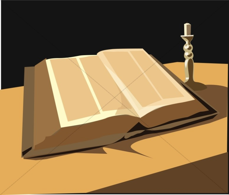 Bible by Candle
