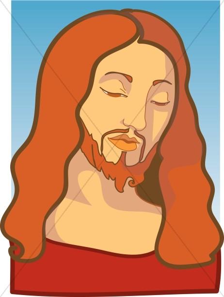 Stylized Jesus Portrait