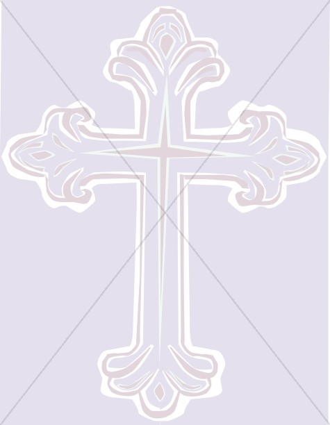 Lavender Cross Clipart Background