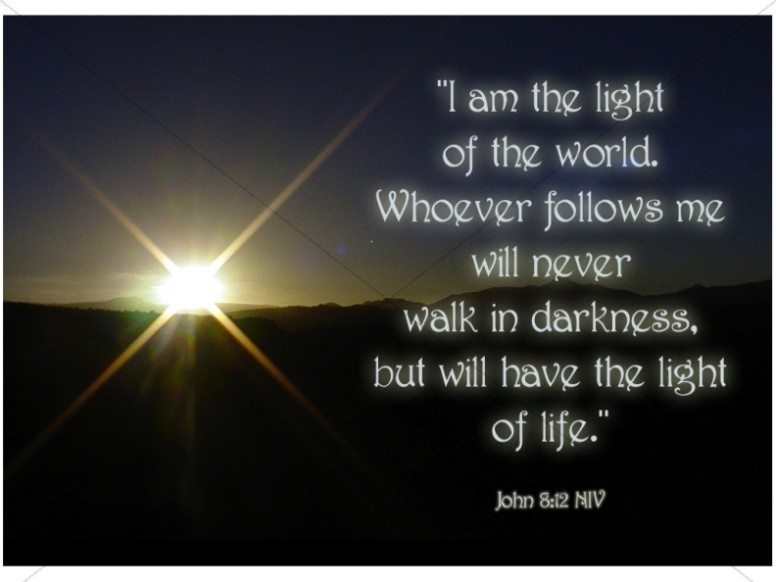 I am the Light    John 8:12