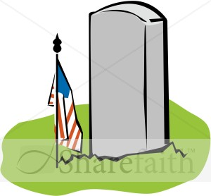 Blank memorial