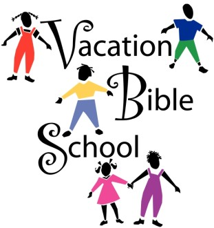 Vacation Bible School with Children Playing