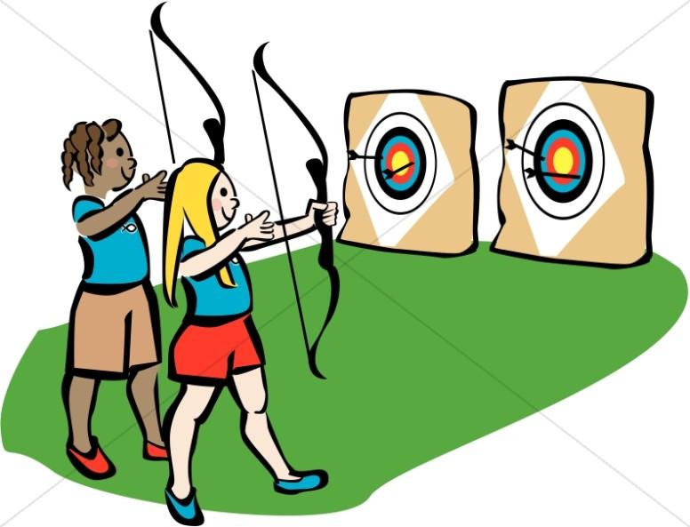 Youth Camp Archery
