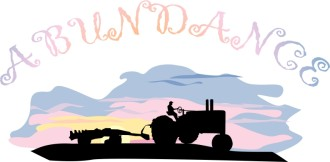 Abundance Tractor at Sunrise