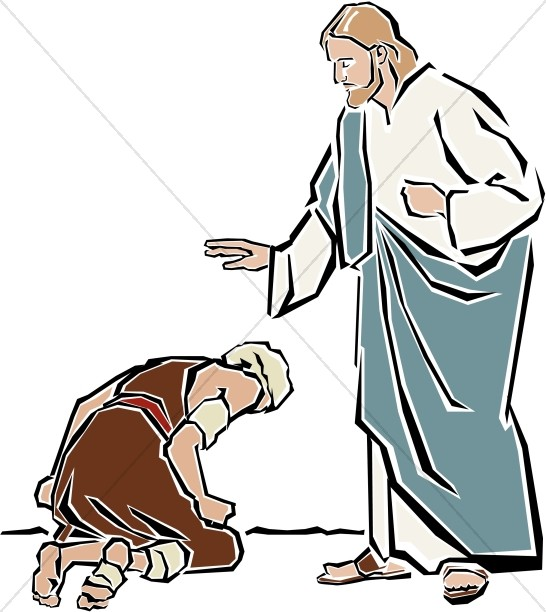 clipart of jesus healing - photo #3