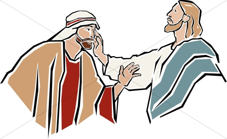 Jesus Heals the Deaf Man