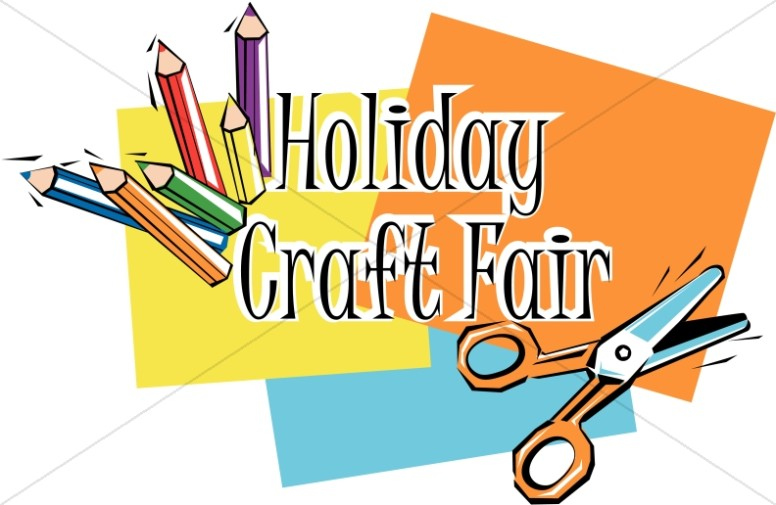 Holiday Crafts in Color Word Art