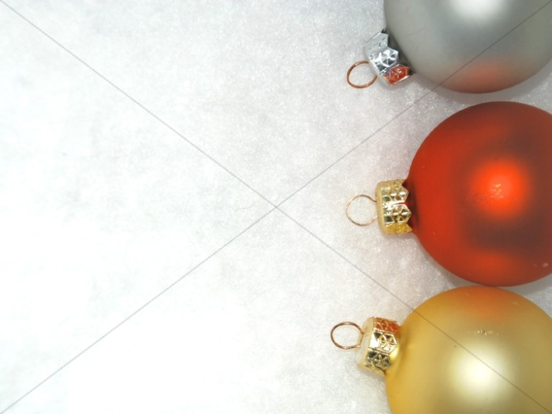 Three Ornaments on the Side