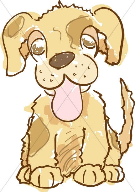 Cute Brown Puppy