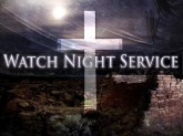 Watch Night with Cross and Ruins