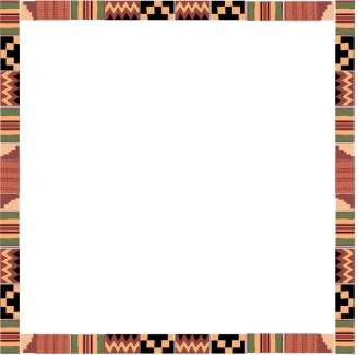 Kente Cloth Square