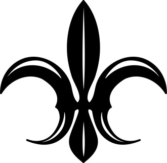 Outstretched Fleur de lis