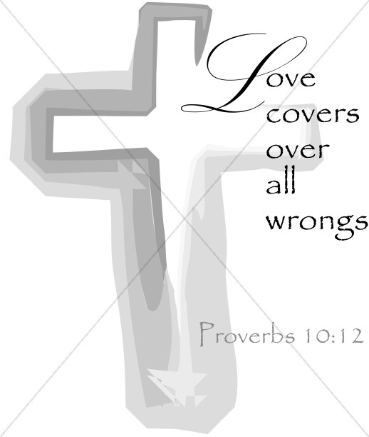 Love with a Cross and a Proverb