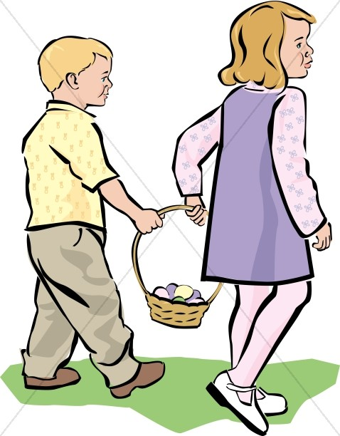 Easter Kids in Color