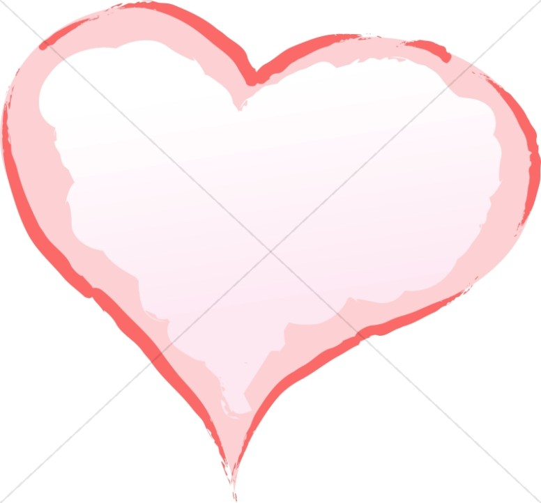 Puffy Pink Heart