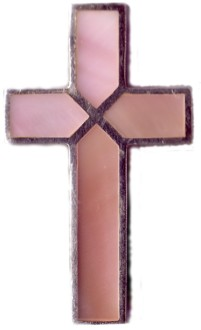 Cross with Shades of Pink