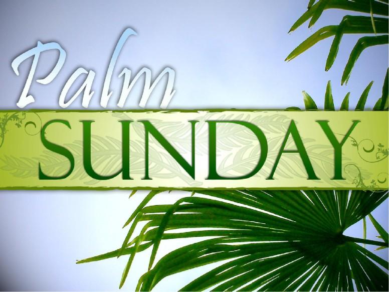 Palm Sunday with Blue Sky