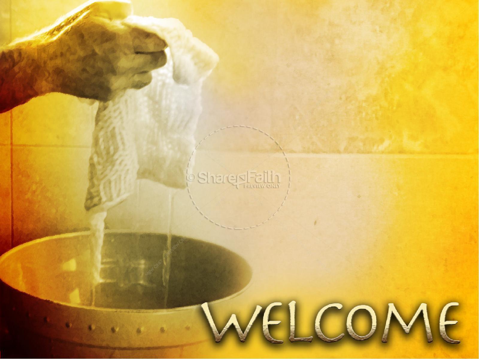 Jesus the Servant Washes Feet