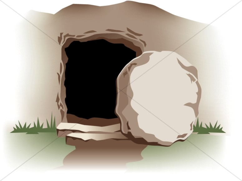 Empty Tomb with Stone