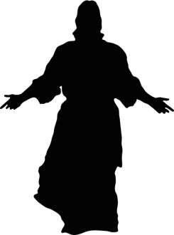 Jesus in Silhouette