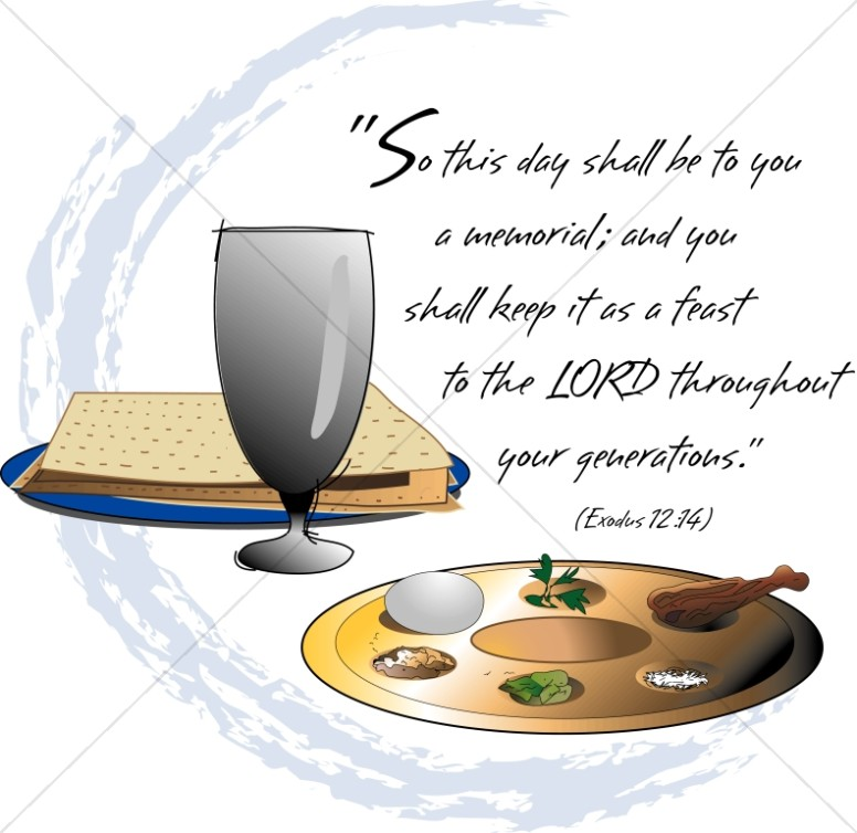 Passover Feast and Exodus Verse