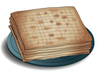 Unleavened Bread on Plate