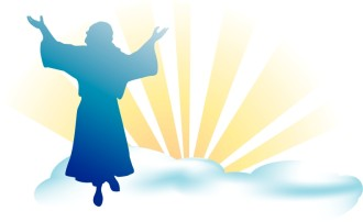 Ascension of Jesus Clipart