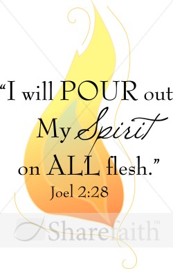 Holy Spirit and Flame