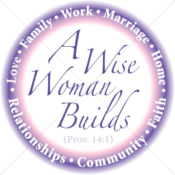 Wise Woman Builds in Purple