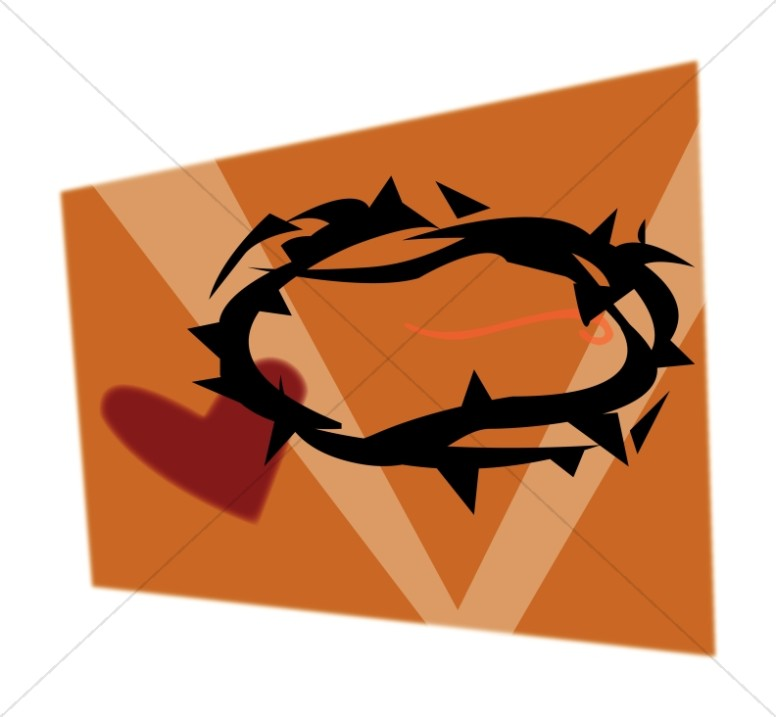 Crown of Thorns and Heart