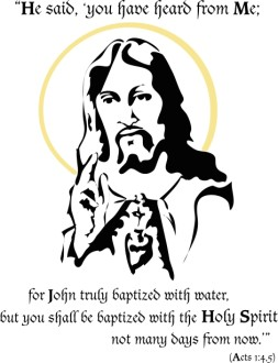 Jesus Promises the Holy Spirit