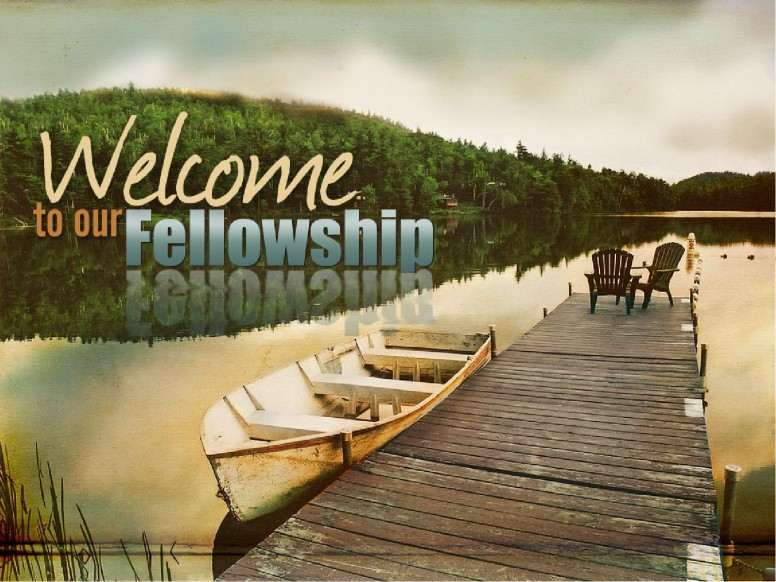 Welcome with Dock and Boat