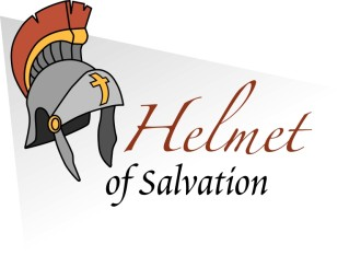 Helmet of Salvation with Words