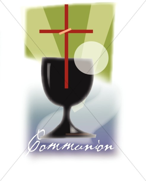Communion with Red Cross