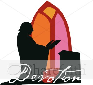 Devotion with Stained Glass
