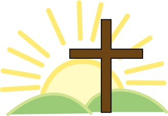 Cross and Bright Sun