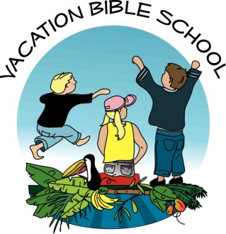 Island Scene at Vacation Bible School