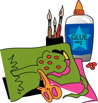 Arts and Crafts with Glue