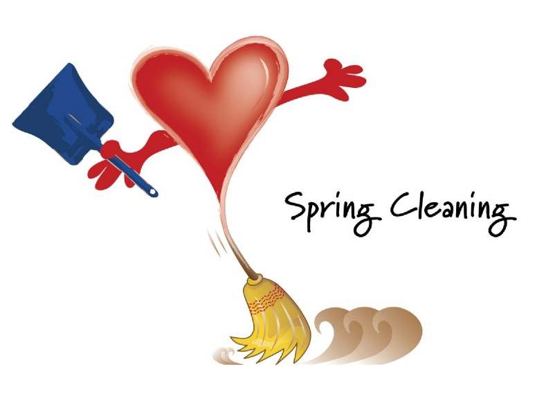 Spring Cleaning with Heart