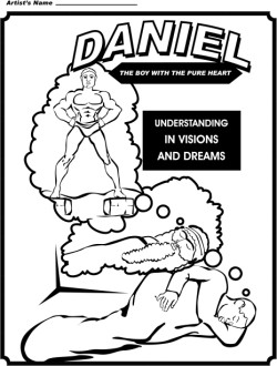 Daniel Coloring Page