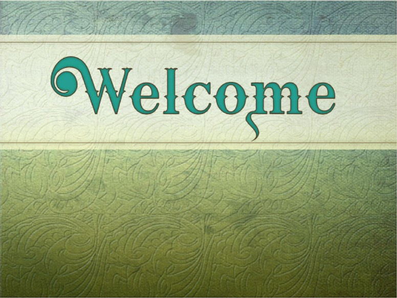 Welcome in Green Textures