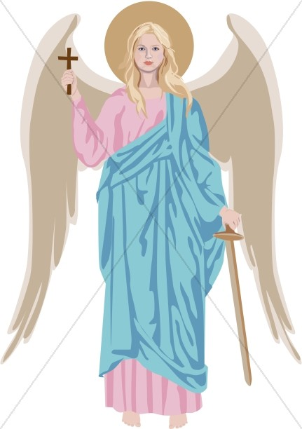 Standing Angel Clipart